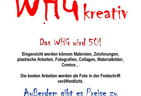 """Kustwettbewerb """"WHG kreativ"""""""
