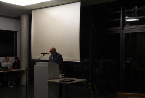 """Vortrag: """"Als das WHG laufen lernte"""" von Herrn Claus Anshof"""