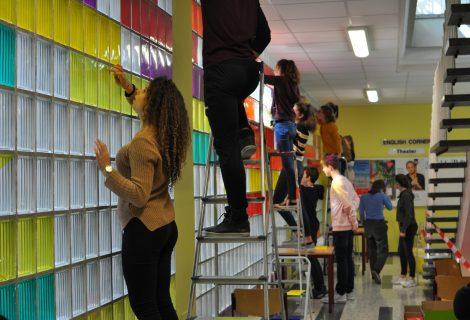 Farbenfrohe Folien (Kulturagentenprojekt)